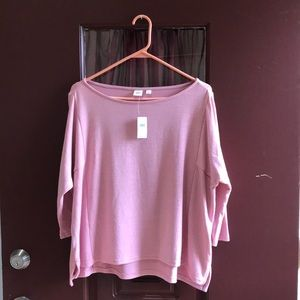 Old Navy light pink loose fitting shirt